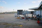 PARIS - SEPTEMBER 03: Orly Airport on September 03, 2014 in Paris, France. Paris Orly Airport is an international airport located partially in Orly, south of Paris