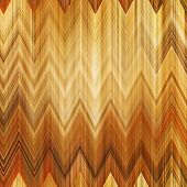 art abstract colorful zigzag geometric vertical seamless pattern background in gold, white and brown colors