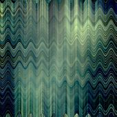 art abstract colorful zigzag geometric vertical seamless pattern background in green, black and white colors