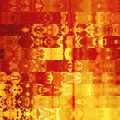 art abstract geometric horizontal stripes pattern background in red, gold and brown colors