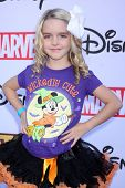 LOS ANGELES - OCT 1:  McKenna Grace at the VIP Disney Halloween Event at Disney Consumer Product Pop Up Store on October 1, 2014 in Glendale, CA