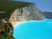 Porto Katsiki beach at Lefkada island, Greece