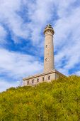 Cabo de Palos lighthouse near Manga Mar Menor Murcia at Spain