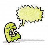 slimy ghost cartoon