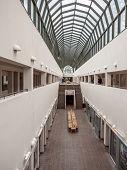 ROVANIEMI, FINLAND - SEPTEMBER 28 2014: Arktikum - Arctic Center and Regional Museum of Lapland, Rovaniemi, Finland