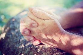 picture of hand god  - Hands folded in prayer - JPG