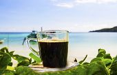 Black Coffee On The Beach