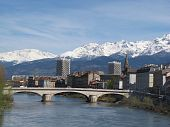 Cityview of grenoble and river