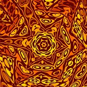 Abstract background or wallpaper pattern. Creative henna or mehendi decoration. Digitally generated.