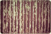 Rusty Scratch Wooden Texture In Vintage Frame Background