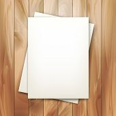 Vector Note Sheets Of Paper