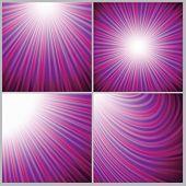 Pink Rays Backround