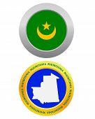 Button As A Symbol  Mauritania