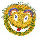Floral Psychodelic Smile