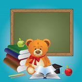 School Teddy Bear