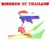Map Illustration Of Thailand