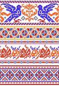 National Russian Patterns