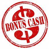 Bonus Cash-stamp