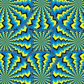 Tribal Spin Mania (motion illusion)
