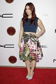 LOS ANGELES - FEB 14: Jillian Rose Reed at the Make-Up Artists & Hair Stylists Guild Awards at the Paramount Theater on February 14, 2015 in Los Angeles, CA