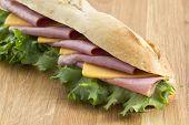 sandwich with cheddar