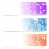 Fashion Abstract Geometry Header Collection