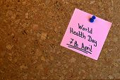Memo: World Health Day