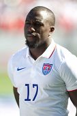 CARSON, CA. - FEB 2 : United States forward Jozy Altidore during the USA friendly against Panama on February 2nd 2015 at the StubHub Center in Carson, California.