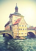 Bamberg, Germany.  Instagram style filtred image