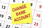Change Bank Account