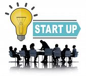 Start Up Ideas Innovation Concept