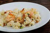 Fried Rice With Prawns