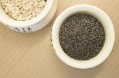 Poppy Seeds And Rice In A Cup