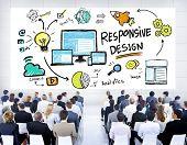Responsive Design Internet Web Online Seminar Conference Concept