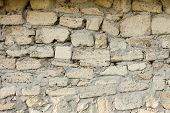 picture of mortar-joint  - Masonry of coquina  - JPG