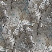 seamless texture of old stone wall with a crack background