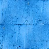 seamless texture of rusty blue colored rough wallpaper