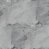 seamless texture old gray stone wall with crack background