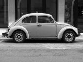 Yellow Volkswagen Beetle