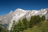 Mont Blanc. Italy
