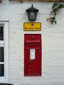 Letterbox In Wall