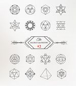picture of philosophy  - Sacred geometry - JPG