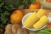 picture of common  - Common Vegetables Frequently Used for Cooking - JPG