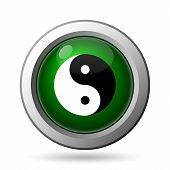 pic of ying yang  - Ying yang icon - JPG