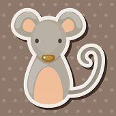 stock photo of chinese zodiac  - Chinese Zodiac Rat Theme Elements - JPG