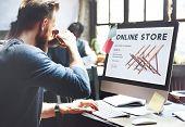 Shopping Online Shopaholics E-Commerce E-Shopping Concept poster
