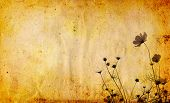 old flower paper textures - perfect background with space for text or image