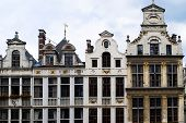 Cityscape in Brussels Europe - landmark of Brussels poster