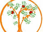 Greenpeace Tree As A Logo.
