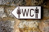 Toilet Sign / Public Restroom